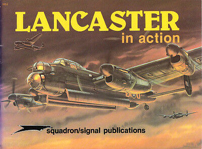 Squadron Signal Aircraft 52 Lancaster in action ( 2. Weltkrieg Luftwaffe )
