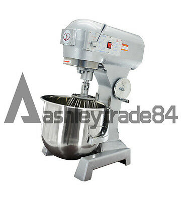 20L Commercial Dough Mixer Egg Beater Automatic Bakery Dough Food Mixer 220V
