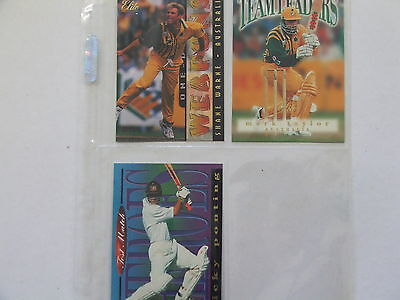 1996 Cricket Elite set of 60 cards, 16 Specialists, 5 Freshman, 3 box cards