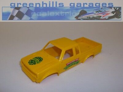 Greenhills Scalextric Datsun 4x4 Truck Turtles Body Shell C422 - Used - S1596  #