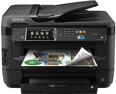 Epson Workforce WF-7620DTWF Printer - A3 Duplex Printer Colour Inkjet All-in-One