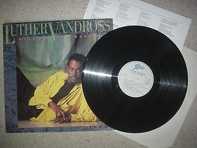 Luther Vandross - Give Me The Reason -Vinyl Lp