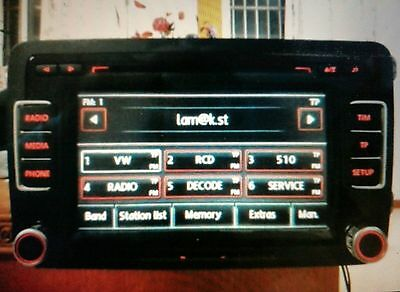 Seat Radio Code | Only Bosch And Blaupunkt  Rcd310 Rns310 Rns Rcd 310