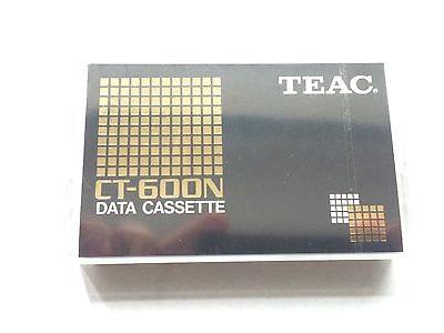 TEAC Data cassette 60 CT600N CT-600N Neu Ovp New
