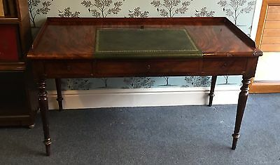 Victorian Writing Table / Desk with rising slope c1870-1890 (SHIPPING AVAILABLE)
