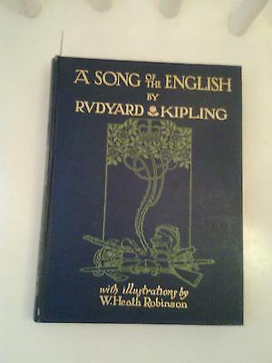 A SONG OF THE ENGLISH - Rudyard Kipling, illustrated by Heath Robinson