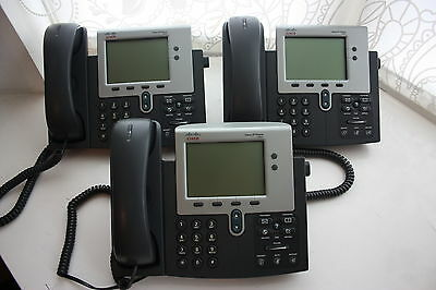 Cisco 7941G Voip Ip Phone With Power Supply,fully Tested,asterisk,sip, Voip