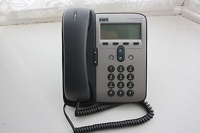 Cisco 7911G Voip Ip Phone With Power Poe Injector, Asterisk, Sip