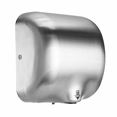 Air Hand Dryer Electric Automatic Sensor Commercial Bathroom 1800W High Speed