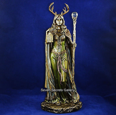 Elen of the Ways Witch Statue Keeper of the Forest Witchcraft Wicca Figurine NEW