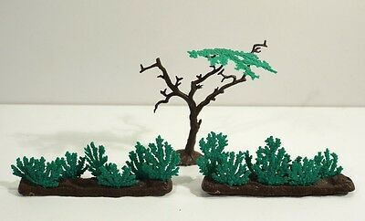 Collection of Rare Vintage Timpo Toy Soldiers - Trees & Shrubs.
