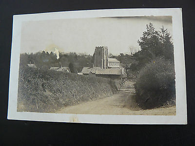 Real Photo RP Postcard - from a Suffolk Norfolk & Berkshire collection