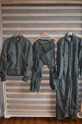 US AIR FORCE CWU36 MA-1, complete pilot's suit