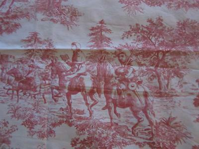 A Gorgeous Small Length Of Vintage Of Sandersons  Chaucerian Toile De Jouy