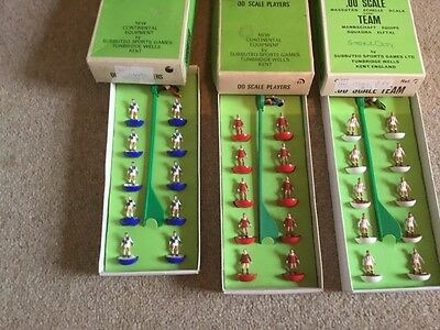 subbuteo hw teams x 3 Bristol Rovers, Liverpool and Stoke City