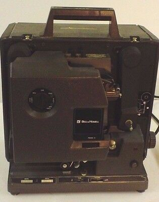 Bell & Howell 2585 16mm FilmoSound Movie Projector Vintage 1980's
