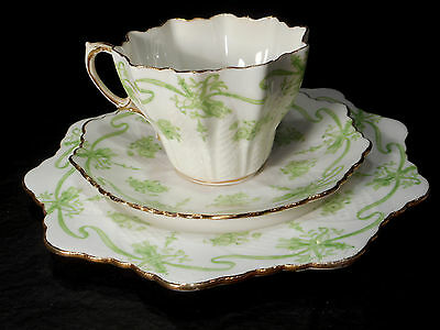 Vintage Paragon China  Trio   Cup , Saucer & Side Plate Circa 1900