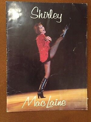 """The Shirley MacLaine Show "" Palace Theatre New York 1976 Souvenir Program"