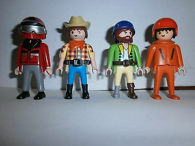 Lot N°2 : Personnages Playmobil