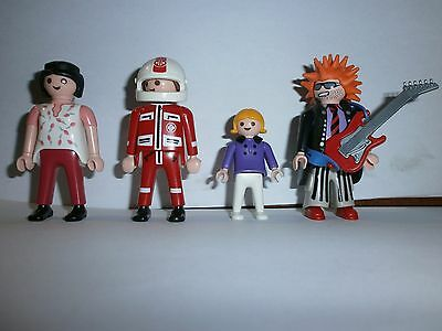 Lot N°4 : Personnages Playmobil