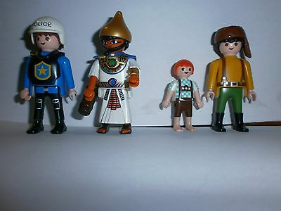 Lot N°5 : Personnages Playmobil