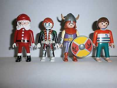 Lot N°10 : Personnages Playmobil