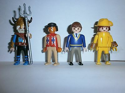 Lot N°11 : Personnages Playmobil