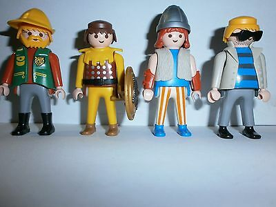 Lot N°18 : Personnages Playmobil
