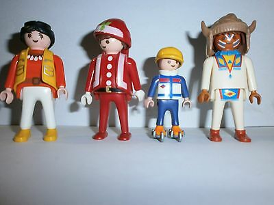 Lot N°19 : Personnages Playmobil