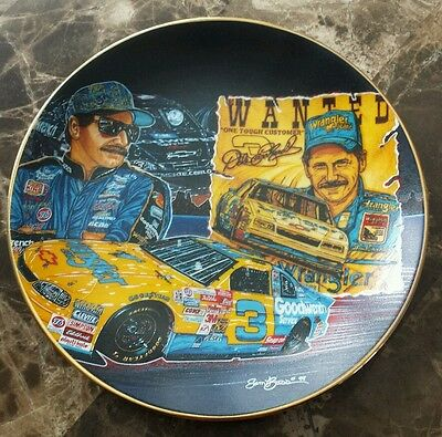 "Hamilton Collections Dale Earnhardt ""Blast From The Past"" Plate #0738A"