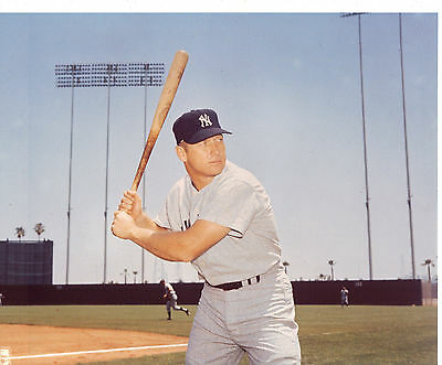 Mickey Mantle New York Yankees 8 x 10 Photo