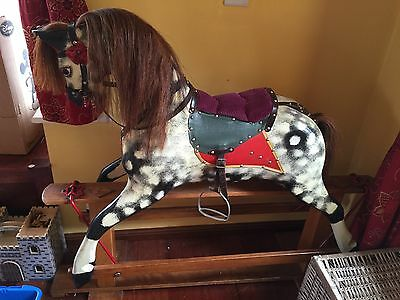 Collinson Original Large Rocking Horse Lovely Condition