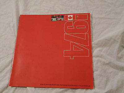 Team Canada Hockey Vs Russia 1974 Souvenir Book 48 Pages