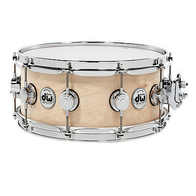 "DW Collectors Series 14"" x 6"" Maple Snare in Natural"