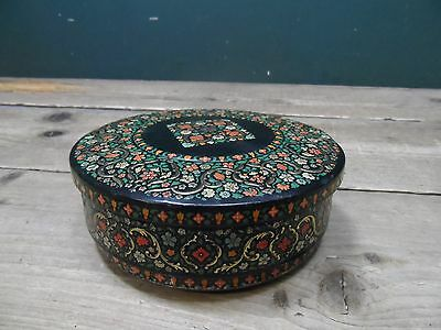 Vintage Huntley & Palmers Floral Biscuit Tin