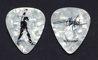 Toby Keith Signature White Pearl Guitar Pick - 2007 Tour
