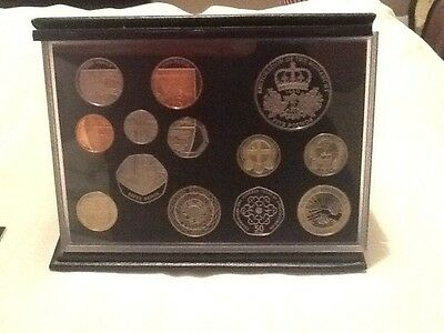 2010 ROYAL MINT DELUXE PROOF SET OF COINS - 13 Coins