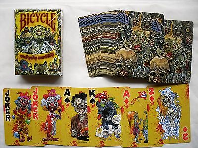 Jeu De Cartes De 54 Cartes A Jouer   Bicycle Zombie