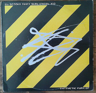 Dj Spooky That subliminal kid Synthetic fury EP drum 'n bass USA 1998 vinile