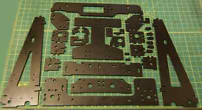 Anet A8/ Tronxy/ Hesine M505 Prusa i3 3D Printer  Melamine Frame Upgrade Kit