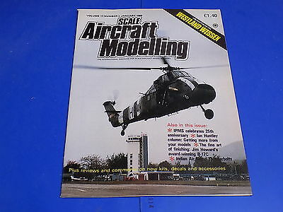 Scale Aircraft Modelling 1989 Jan - Westland Wessex