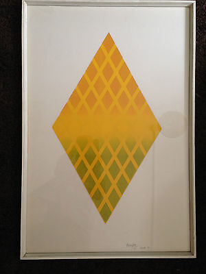 original limited edition print 3/5 by Thomas Pike 'Untitled III' December 1969