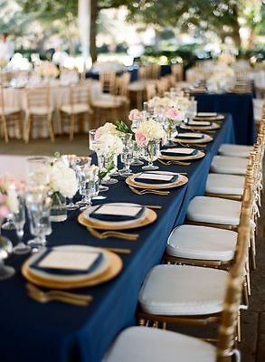 """48 pcs x 13"""" GOLD ACRYLIC CHARGER PLATES Wedding Reception Dinner Banquet Events"""