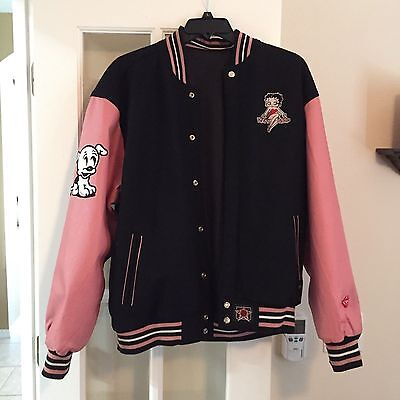Betty Boop Leather Reversible Jacket 3XL