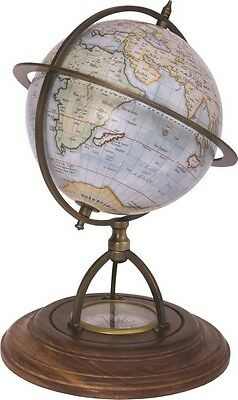 Globe with Compass Base A - Nautical by Batela