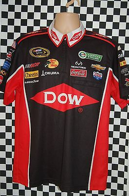 Austin Dillon #3 DOW Chemical Pit Shirt NASCAR RACE USED SIZE Medium