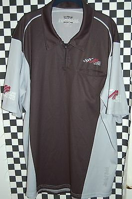 JOE GIBBS RACING Wicked Quick Pit Shirt NASCAR RACE USED SIZE 3XL
