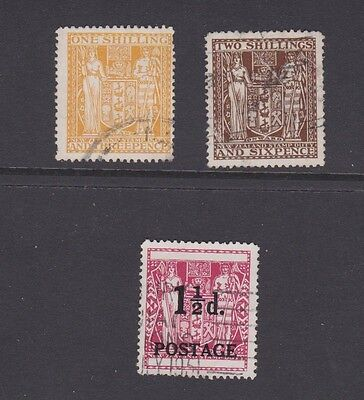 Stamps New Zealand used revenue