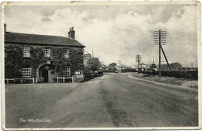 GB ppc early The Woolton Gap real photo - R. A. P. Co card