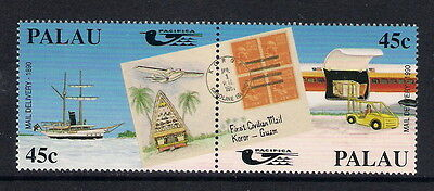 Palau 1990 Air Mail Transport, Mail Delivery, MNH